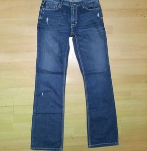 Men's BKE CARTER jeans boot cut distressed 30 x34